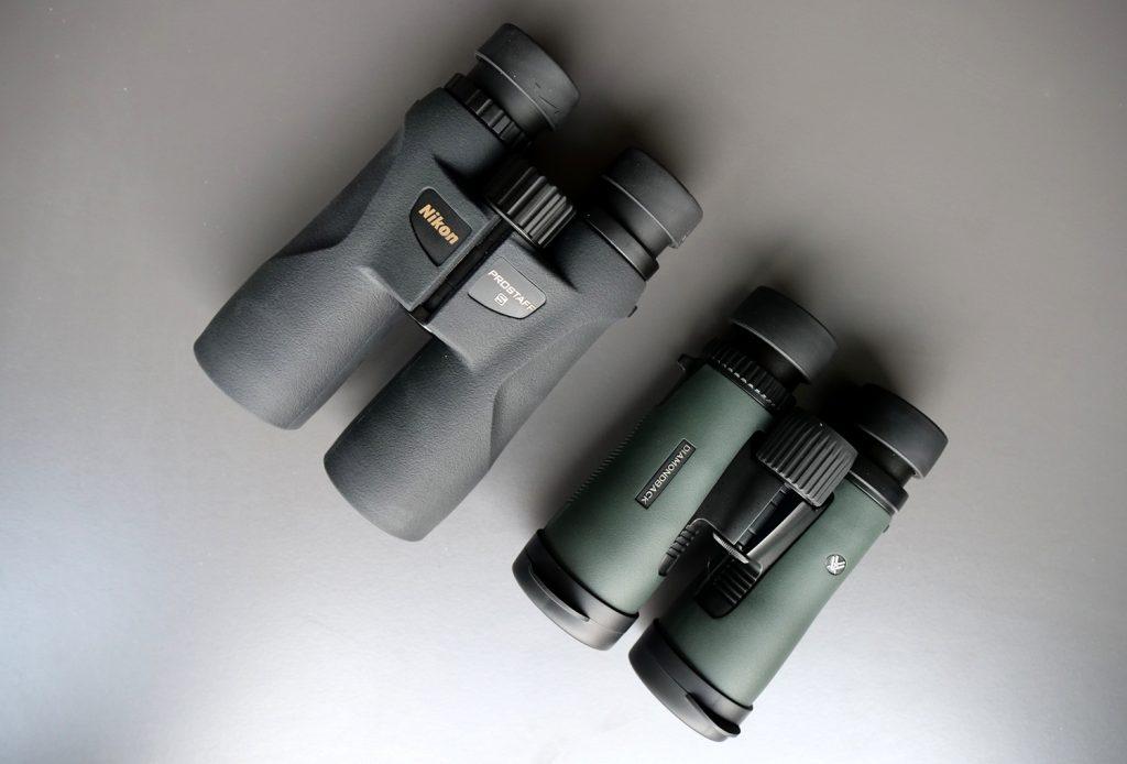 Nikon Prostaff 5 8×42 Vs. Vortex Diamondback 8×42 - Bird View
