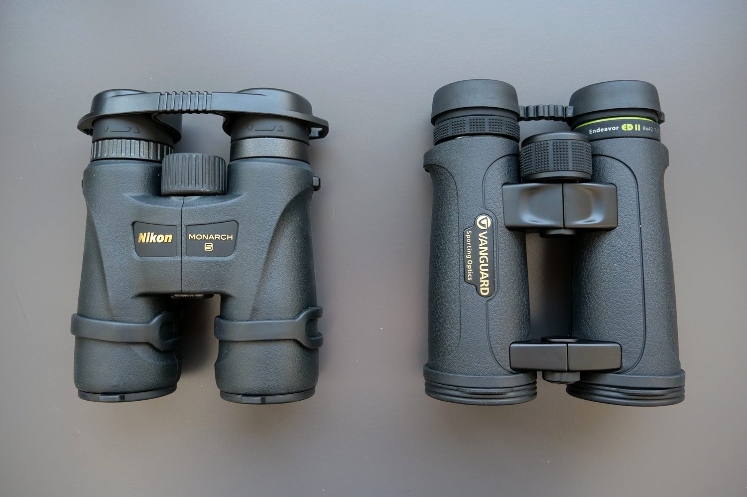 Nikon Monarch 5 8×42 And Vanguard Endeavor ED II 8×42