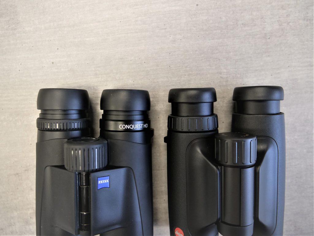 Zeiss Conquest HD 8×32 vs. Leica Trinovid 8×32 HD Eyepieces