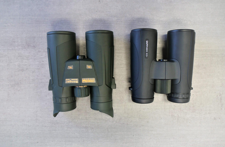 Hawke Sapphire ED 8x42 and Steiner Ranger Xtreme 8x42 Bird View