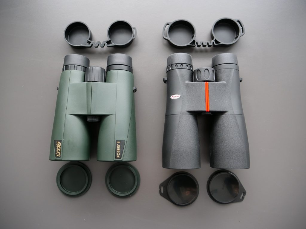 Delta Optical Forest II 10×50 and Kowa SV 10×50 Covers