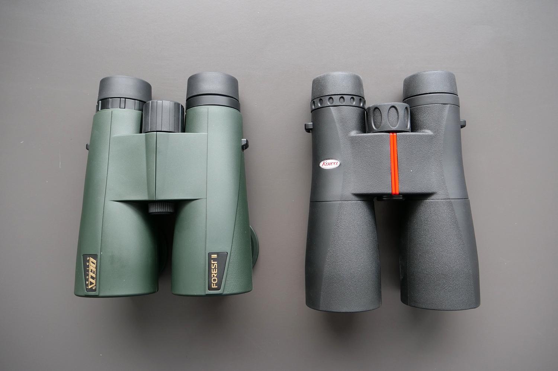 Delta Optical Forest II 10×50 Vs. Kowa SV 10×50