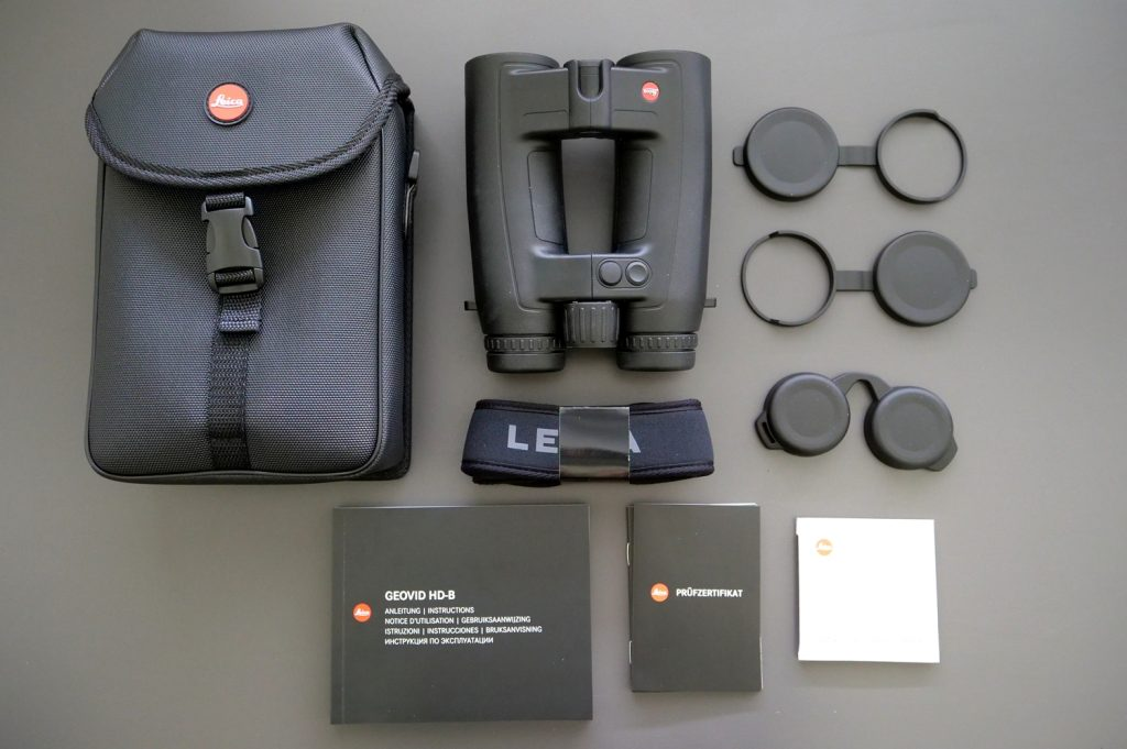 Leica Geovid 10x42 HD-B Kit