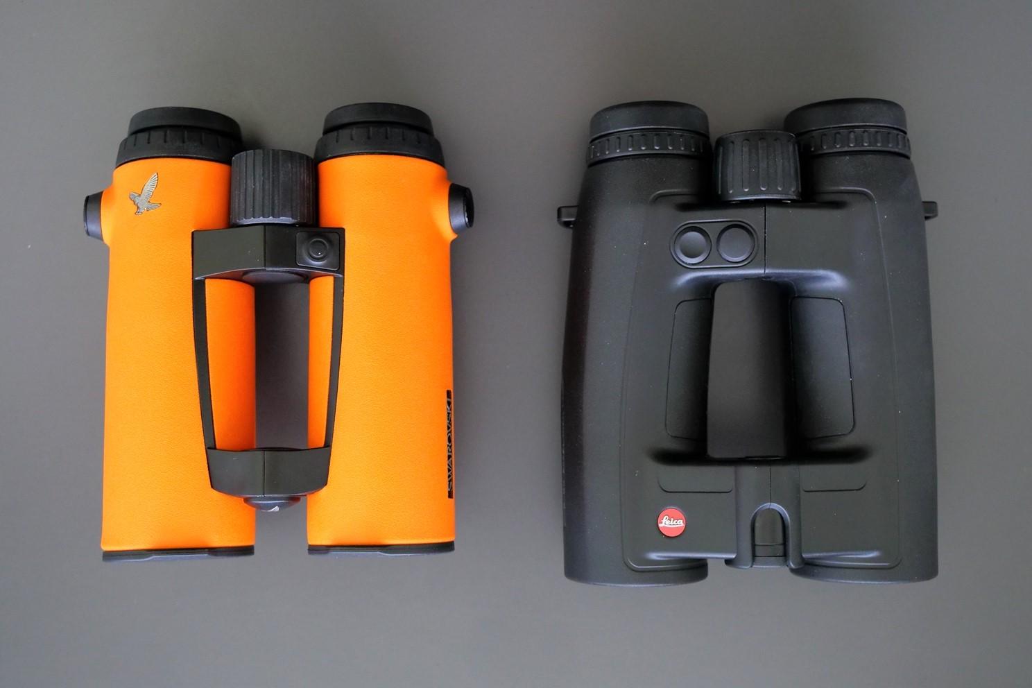 Swarovski EL O-Range 10x42 W B and Leica Geovid 10x42 HD-B