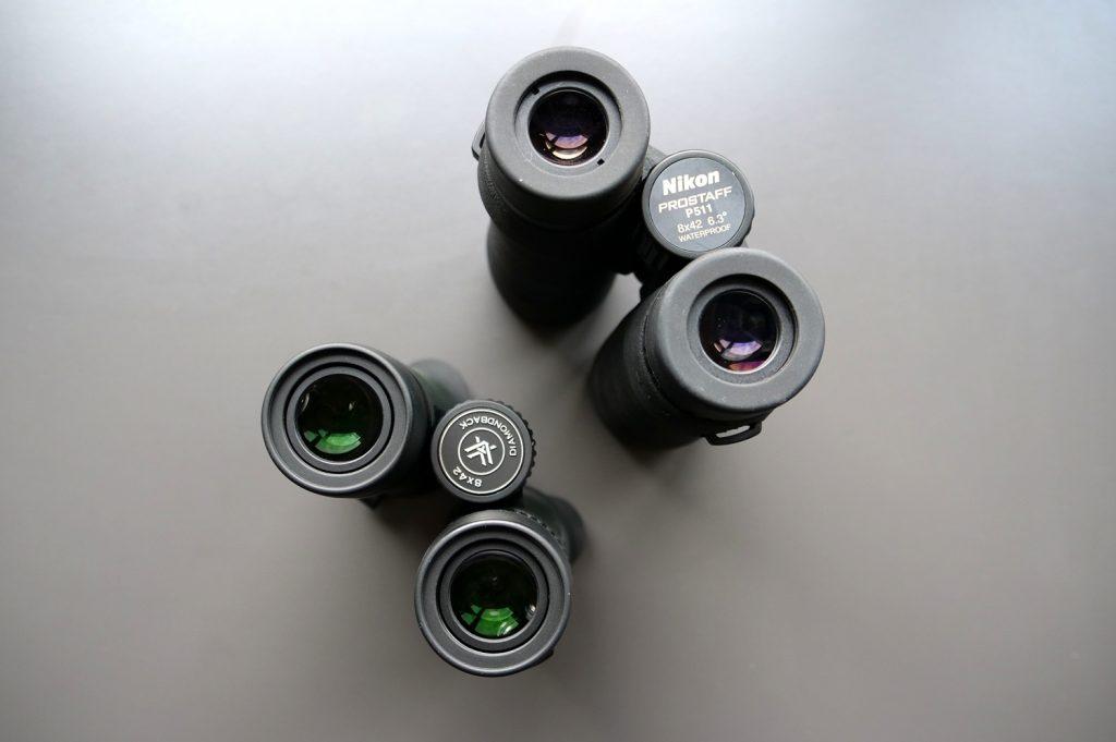 Prostaff 5 8x42 by Nikon and Diamondback 8x42 by Vortex