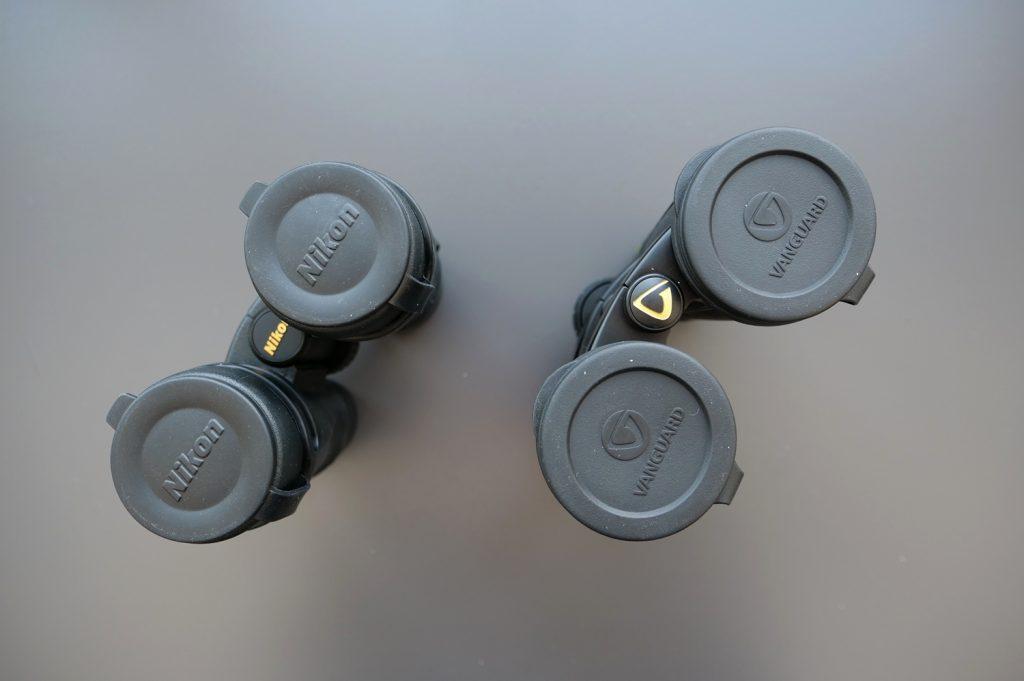 Nikon Monarch 5 8×42 And Vanguard Endeavor ED II 8×42 Covers