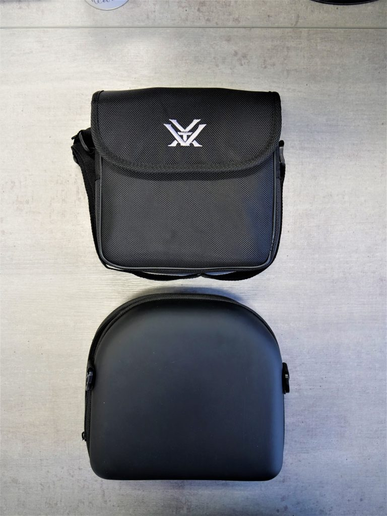 Vortex Hurricane 7×50 (above) And Delta Optical Extreme 7x50 ED (below) Bags