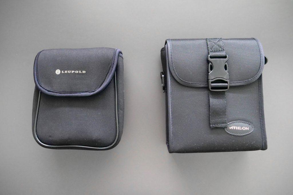 Leupold BX-3 Mojave 8x42 and Athlon Midas 8x42 Bags
