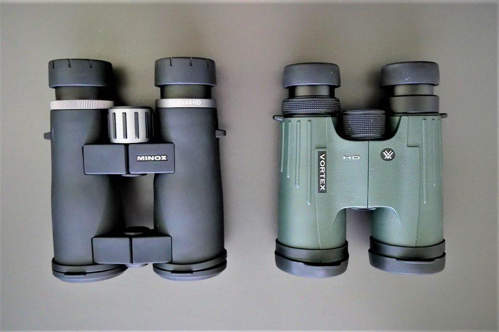 Minox BL 10x44 HD and Vortex Viper HD 10x42