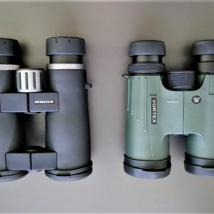 Minox BL 10x44 HD and Vortex Viper HD 10x42