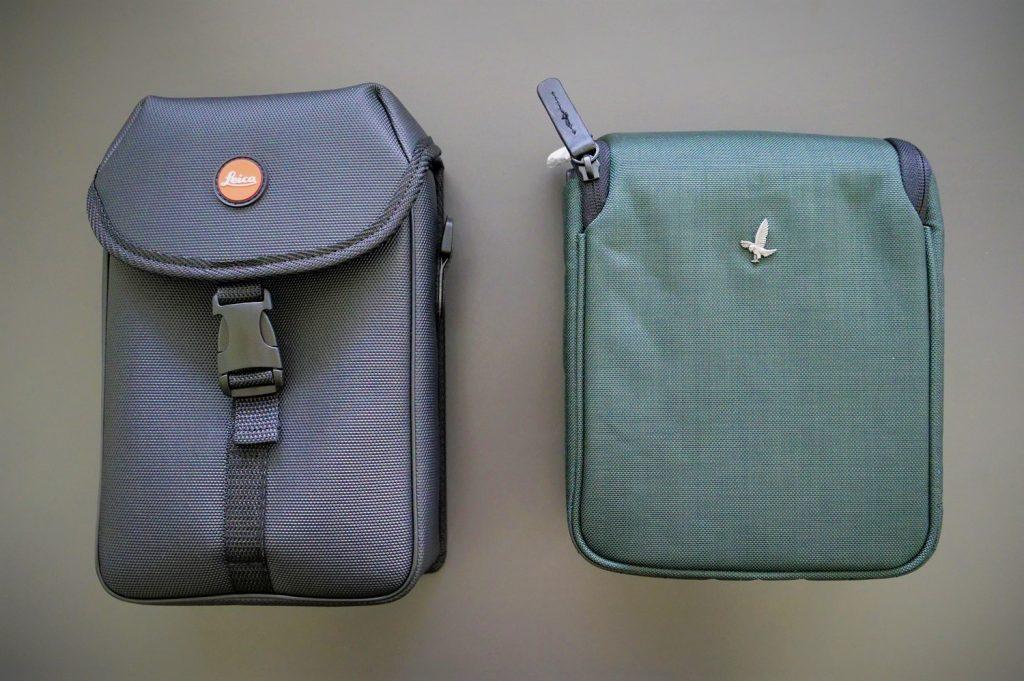Leica Geovid 10x42 HD-B and Swarovski EL O-Range 10x42 W B Bags