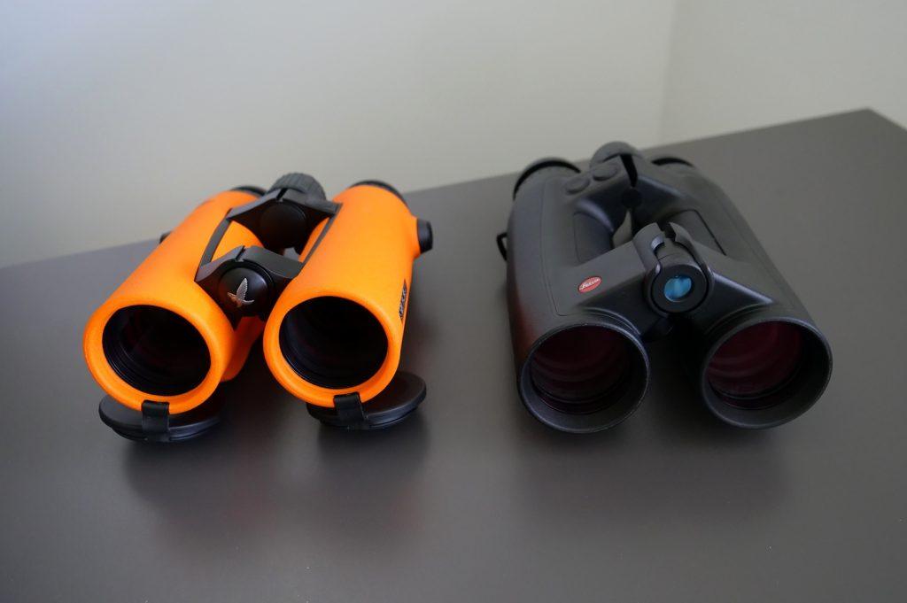 Swarovski EL O-Range 10x42 W B & Leica Geovid 10x42 HD-B