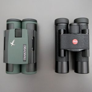 Swarovski CL Pocket 10x25 and Leica Ultravid 10x25 BL AquaDura