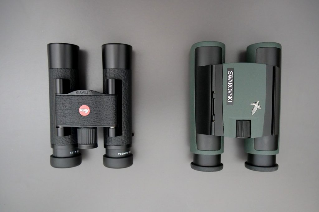 Leica Ultravid 10x25 BL AquaDura and Swarovski CL Pocket 10x25 Eyepieces