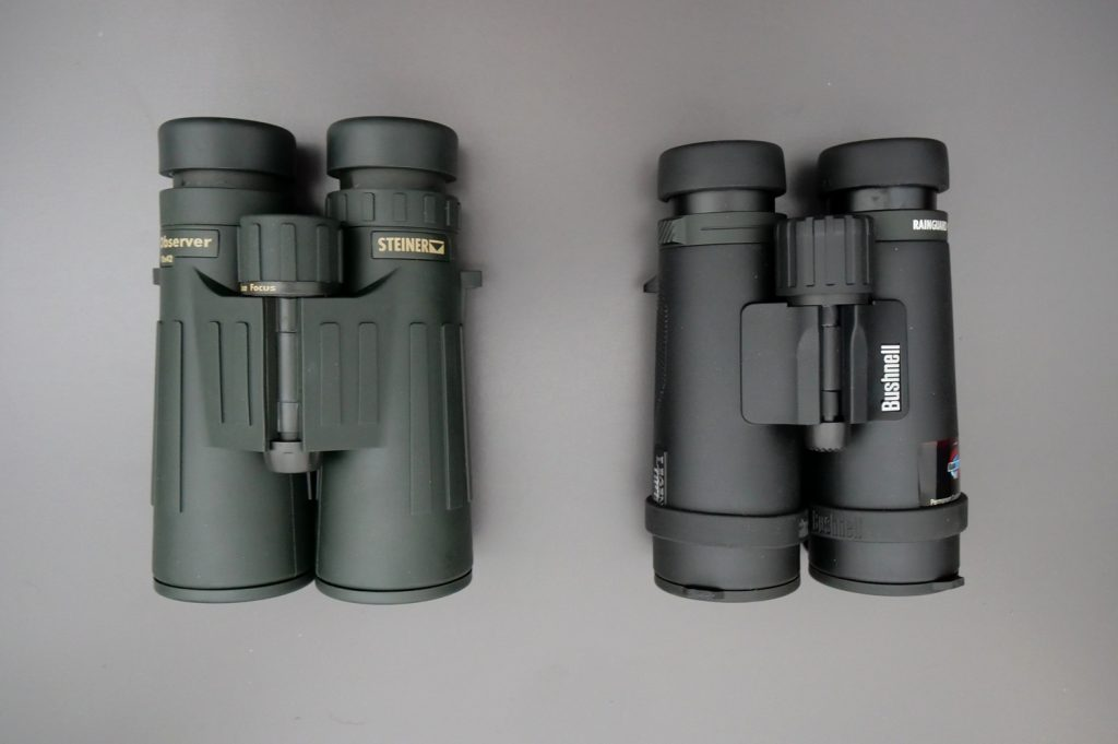Steiner Observer 10x42 and Bushnell Legend E 10x42