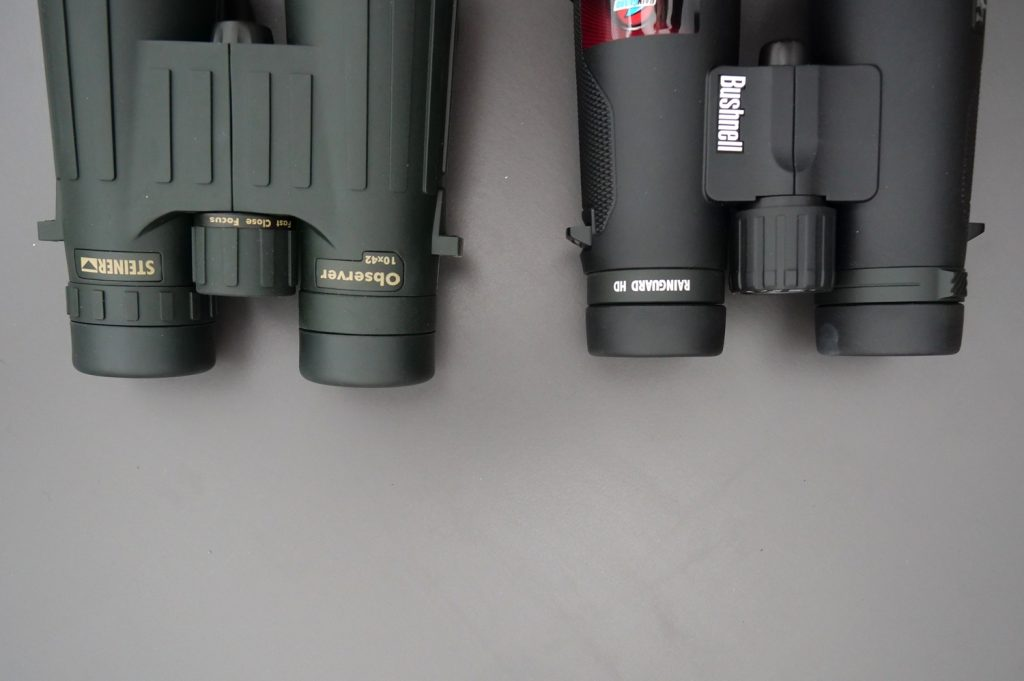 Steiner Observer 10x42 Vs. Bushnell Legend E 10x42 Eyepieces
