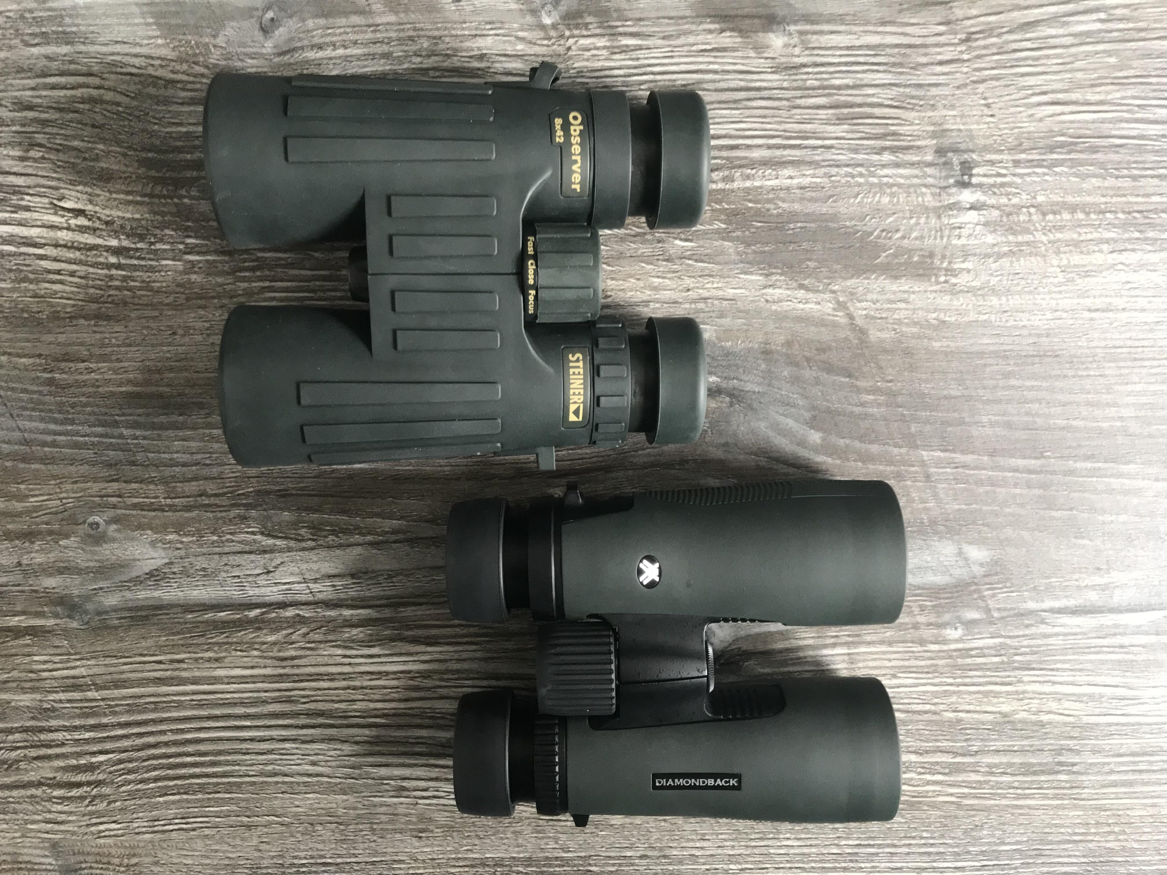 Steiner Observer 8x42 VS. Vortex Diamondback 8x42